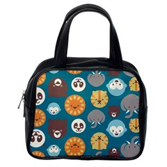 Animal Pattern Classic Handbags (One Side)