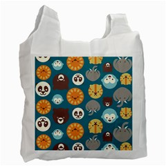Animal Pattern Recycle Bag (One Side)