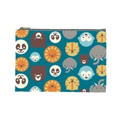 Animal Pattern Cosmetic Bag (Large)