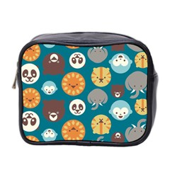 Animal Pattern Mini Toiletries Bag 2-Side