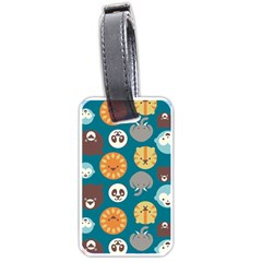 Animal Pattern Luggage Tags (Two Sides)