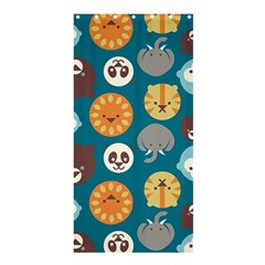 Animal Pattern Shower Curtain 36  x 72  (Stall)
