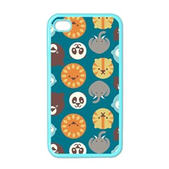 Animal Pattern Apple iPhone 4 Case (Color)