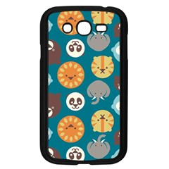 Animal Pattern Samsung Galaxy Grand Duos I9082 Case (black)