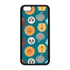 Animal Pattern Apple iPhone 5C Seamless Case (Black)