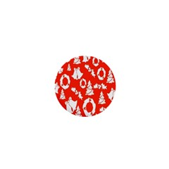 Backdrop Background Card Christmas 1  Mini Buttons