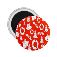 Backdrop Background Card Christmas 2.25  Magnets