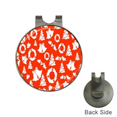Backdrop Background Card Christmas Hat Clips with Golf Markers