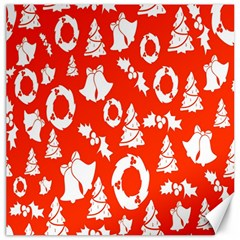 Backdrop Background Card Christmas Canvas 16  x 16