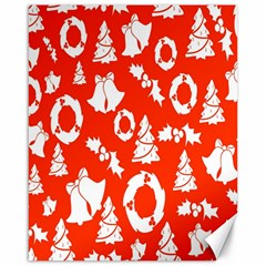 Backdrop Background Card Christmas Canvas 16  x 20