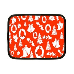 Backdrop Background Card Christmas Netbook Case (Small)