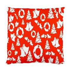 Backdrop Background Card Christmas Standard Cushion Case (Two Sides)