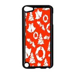Backdrop Background Card Christmas Apple iPod Touch 5 Case (Black)