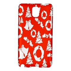 Backdrop Background Card Christmas Samsung Galaxy Note 3 N9005 Hardshell Case