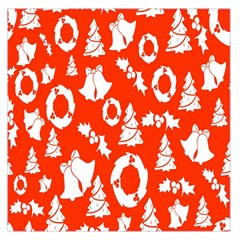 Backdrop Background Card Christmas Large Satin Scarf (Square)