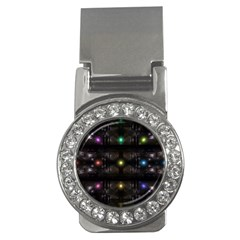 Abstract Sphere Box Space Hyper Money Clips (CZ)