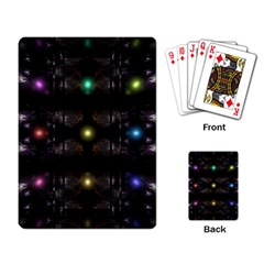 Abstract Sphere Box Space Hyper Playing Card