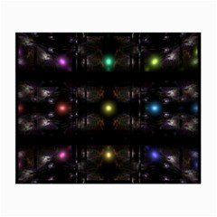 Abstract Sphere Box Space Hyper Small Glasses Cloth (2-Side)
