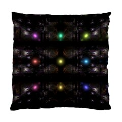 Abstract Sphere Box Space Hyper Standard Cushion Case (One Side)
