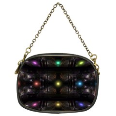 Abstract Sphere Box Space Hyper Chain Purses (Two Sides)