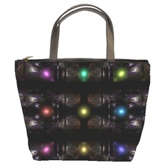 Abstract Sphere Box Space Hyper Bucket Bags