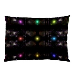 Abstract Sphere Box Space Hyper Pillow Case