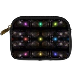 Abstract Sphere Box Space Hyper Digital Camera Cases