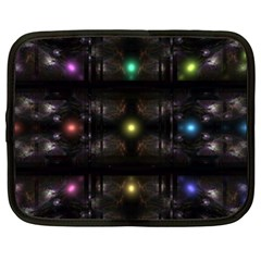 Abstract Sphere Box Space Hyper Netbook Case (xl)