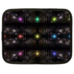 Abstract Sphere Box Space Hyper Netbook Case (XXL)