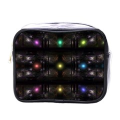 Abstract Sphere Box Space Hyper Mini Toiletries Bags