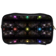 Abstract Sphere Box Space Hyper Toiletries Bags