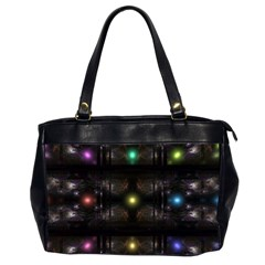 Abstract Sphere Box Space Hyper Office Handbags (2 Sides)