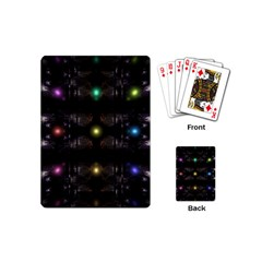 Abstract Sphere Box Space Hyper Playing Cards (Mini)
