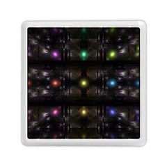 Abstract Sphere Box Space Hyper Memory Card Reader (Square)