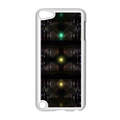 Abstract Sphere Box Space Hyper Apple iPod Touch 5 Case (White)