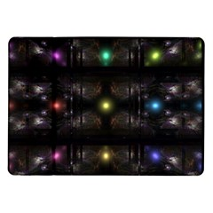 Abstract Sphere Box Space Hyper Samsung Galaxy Tab 10.1  P7500 Flip Case