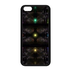 Abstract Sphere Box Space Hyper Apple iPhone 5C Seamless Case (Black)