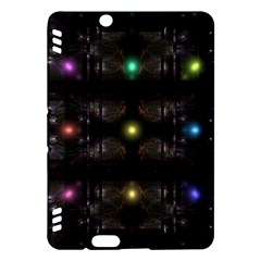 Abstract Sphere Box Space Hyper Kindle Fire HDX Hardshell Case