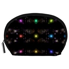 Abstract Sphere Box Space Hyper Accessory Pouches (Large)