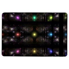 Abstract Sphere Box Space Hyper iPad Air 2 Flip