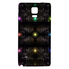 Abstract Sphere Box Space Hyper Galaxy Note 4 Back Case