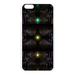 Abstract Sphere Box Space Hyper Apple Seamless iPhone 6 Plus/6S Plus Case (Transparent)