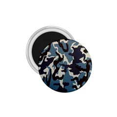 Blue Water Camouflage 1.75  Magnets