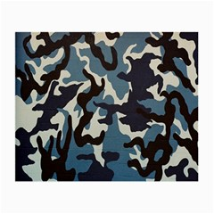 Blue Water Camouflage Small Glasses Cloth (2-Side)