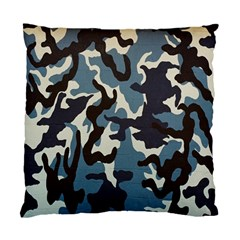 Blue Water Camouflage Standard Cushion Case (Two Sides)