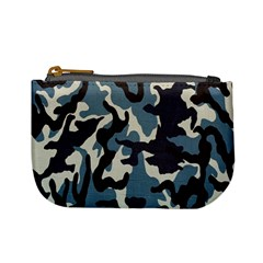 Blue Water Camouflage Mini Coin Purses