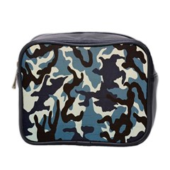 Blue Water Camouflage Mini Toiletries Bag 2-Side