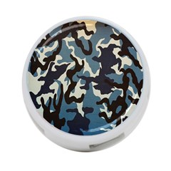 Blue Water Camouflage 4-Port USB Hub (Two Sides)