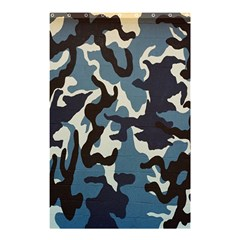 Blue Water Camouflage Shower Curtain 48  x 72  (Small)