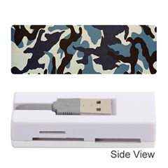 Blue Water Camouflage Memory Card Reader (Stick)